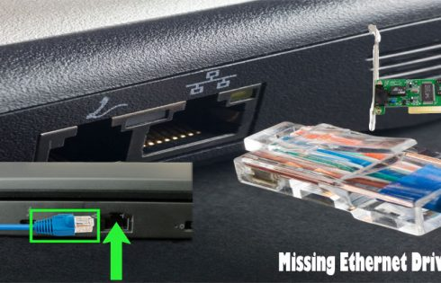 Missing Ethernet Drivers - 3 Basic Fixes
